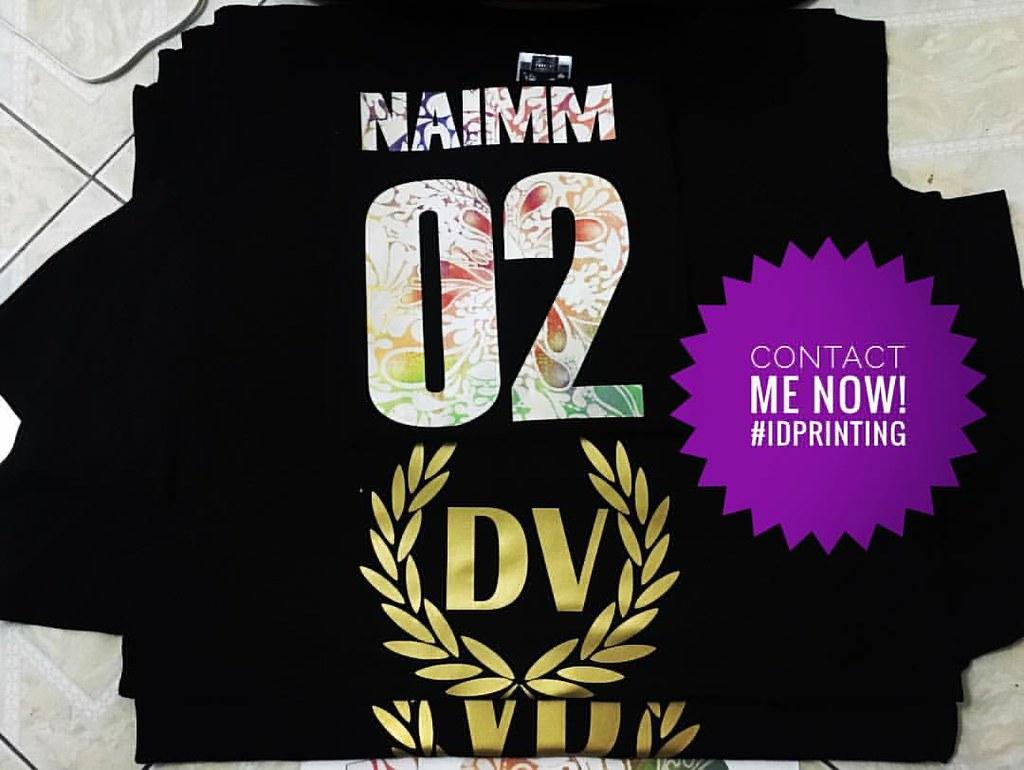 Design t shirt murah -  Design T Shirt Kelas Tudung Idean Cetak Baju Murah Flora Download