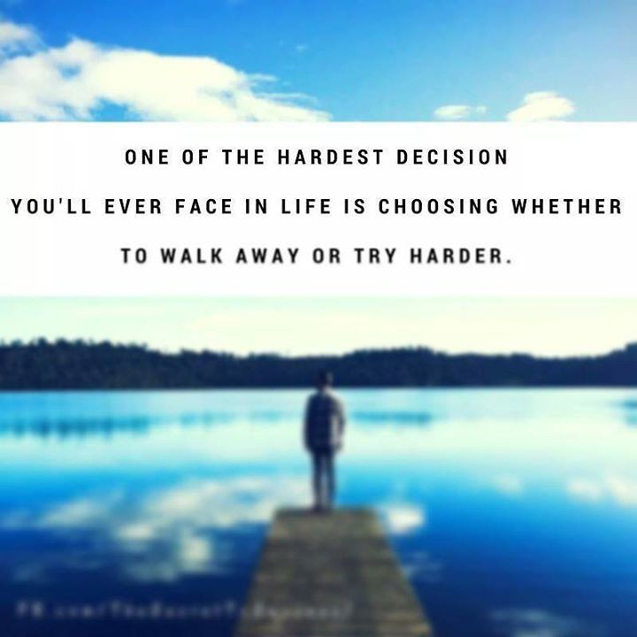 One of the hardest decision you\u0027ll ever face in life is ch\u2026 Flickr