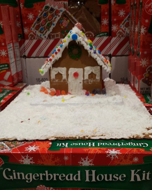 Medium Of Gingerbread House Kit