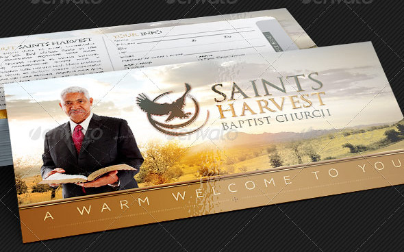 Church Visitor Welcome Card Template The Church Visitor We\u2026 Flickr