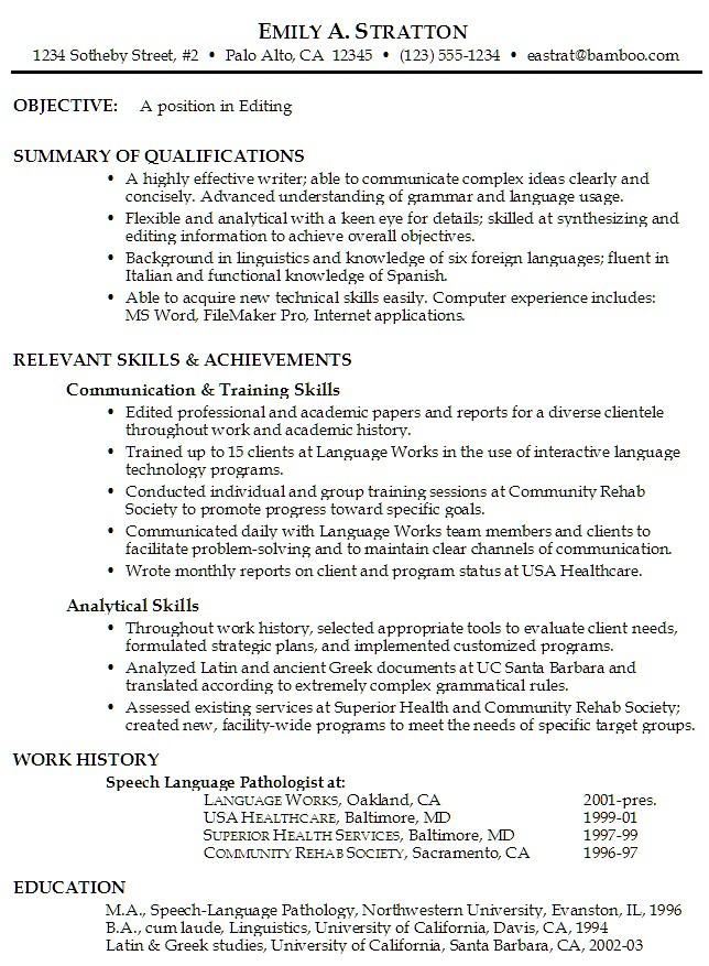 Job Resume Objective Examples Job Resume Objective Example\u2026 Flickr