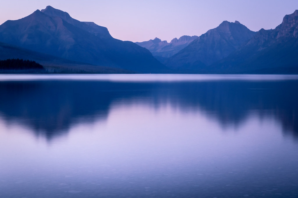 Lake McDonald - Glacier National Park - Reflection Flickr
