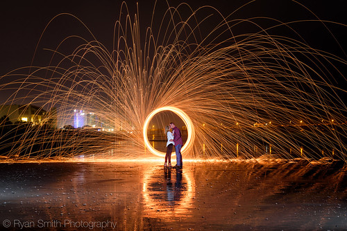 Couple Wallpaper Hd With Quotes Engagement Picture Fun Spinning Steel Wool On Fire Flickr