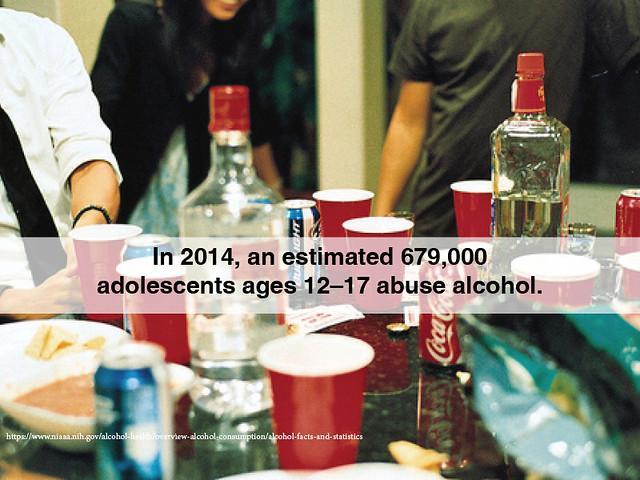 teens abuse alcohol