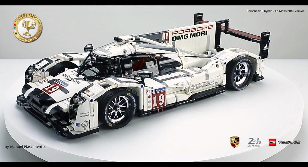 LEGO Technic - Porsche 919 - Le Mans 2015 v Hello everyon\u2026 Flickr