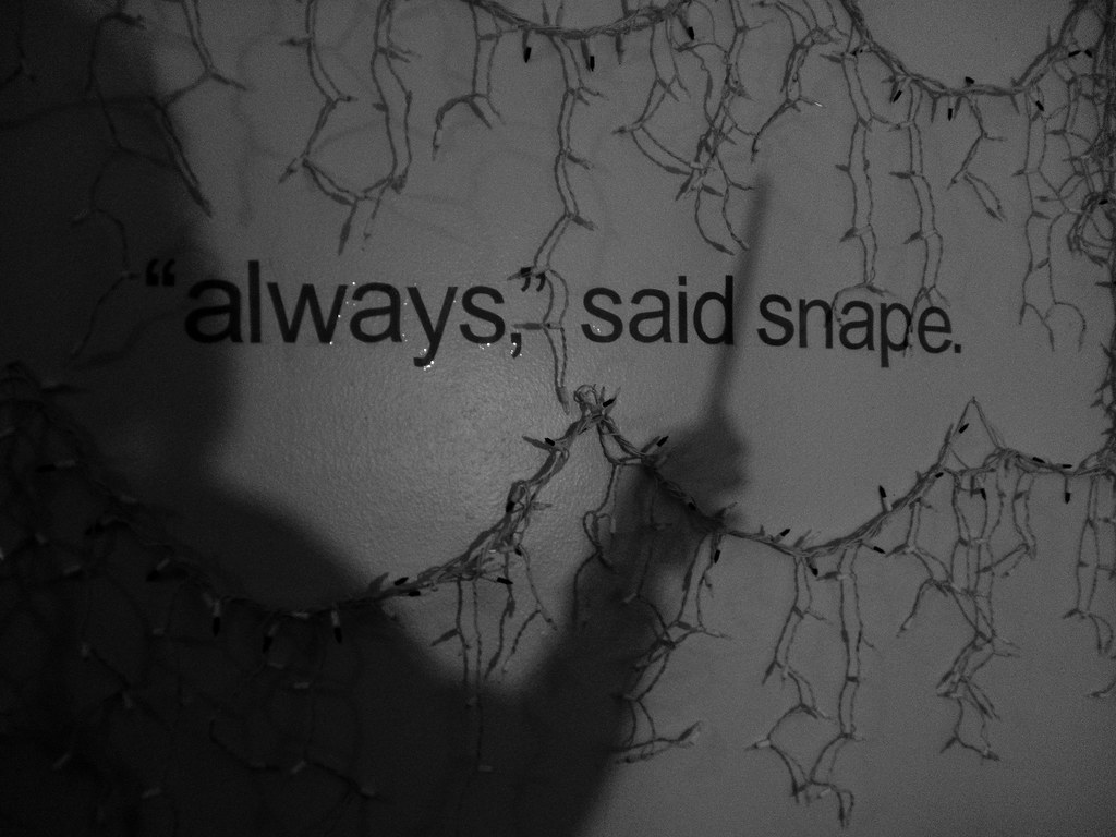 Bad Time Quotes Wallpaper Quot After All This Time Quot From The Tip Of His Wand His