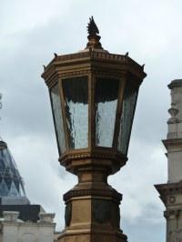 gaslight, gas lamp, gas light, gaslamp, Mansion House, EC3 ...