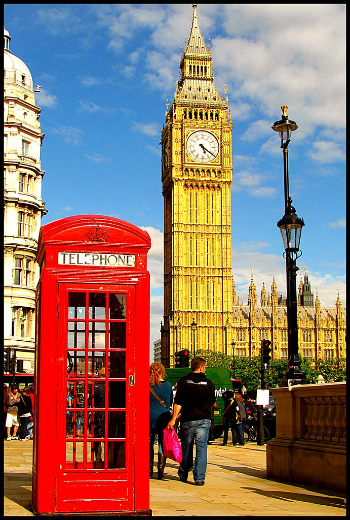 Cute New Wallpaper For Phone Big Ben With Phone Booth Ah E Tal Flickr