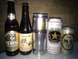 Small Of Beer In Japanese