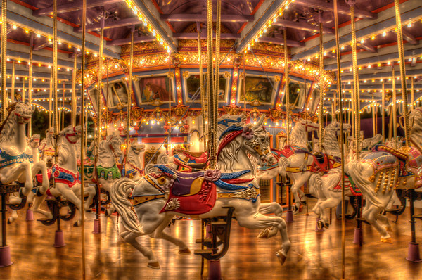3d Hd Christmas Wallpapers The Final Turn Around The Carousel The King Arthur