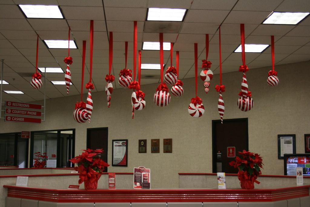 Extra Large Hanging Christmas Decorations Large Red and Whu2026 Flickr - large christmas decorations