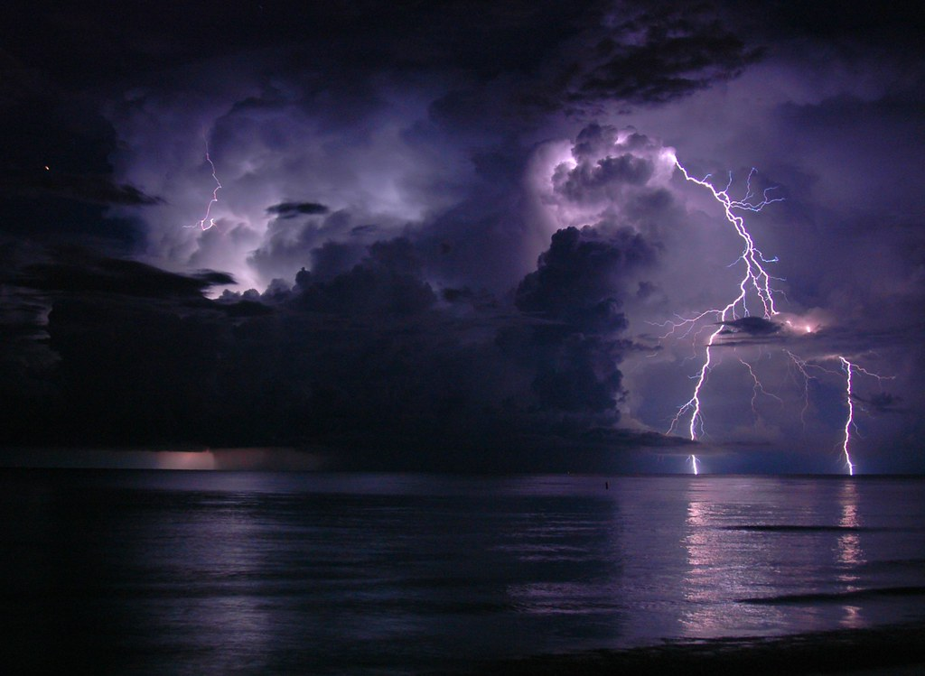 Dark Wallpaper Hd 1920x1080 Another Lightning Shot From Last Night Summer Time