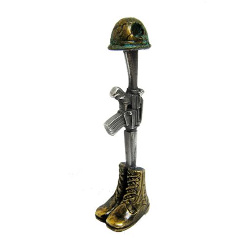 3d Cross Pendant Wallpaper Soldier Cross Pendant A Cast And Assembled Bronze And