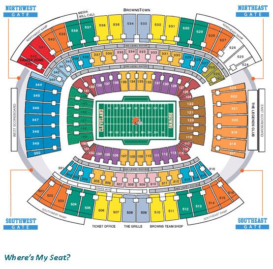 browns stadium seating chart - Bogasgardenstaging