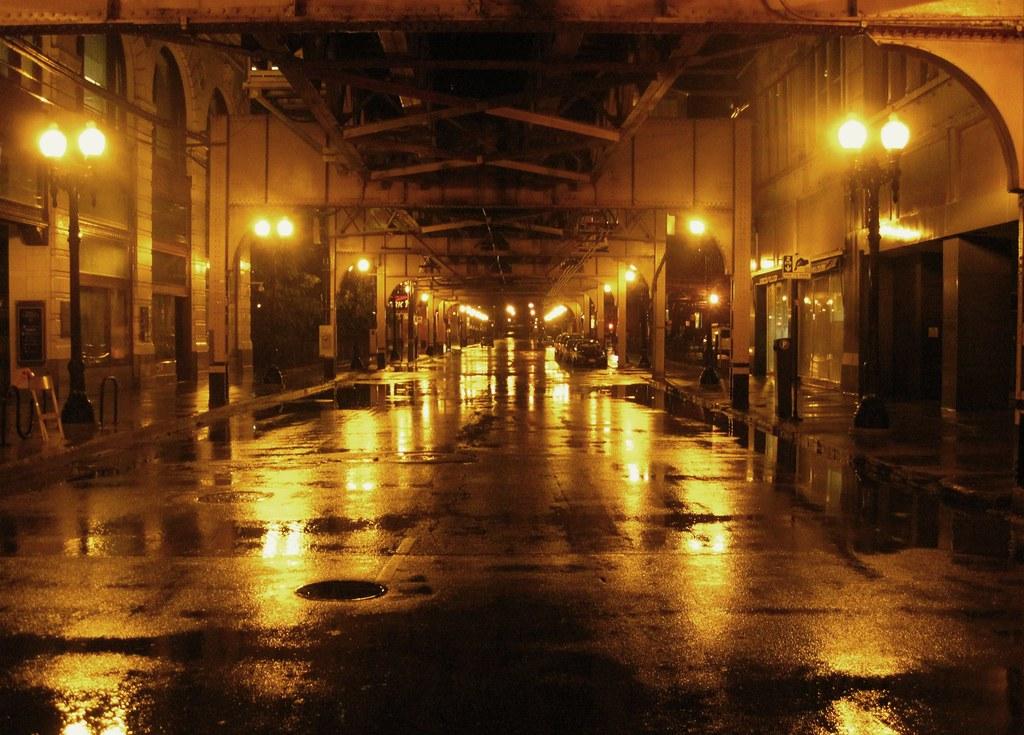 Mobile Wallpaper Hd 3d Love Rainy Street Scene At Chicago 2 Ramon Boersbroek Flickr