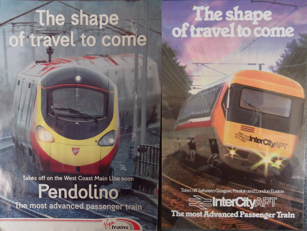 Electric Wallpaper 3d Posters Pendolino Vs Apt P I Prefer The One On The