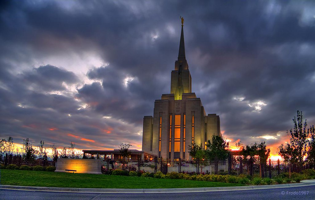 Fall Mountain Wallpaper Free Oquirrh Mountain Utah Lds Temple At Sunset 2 Another