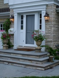 Bluestone front entry stoop | Front entry stoop with ...