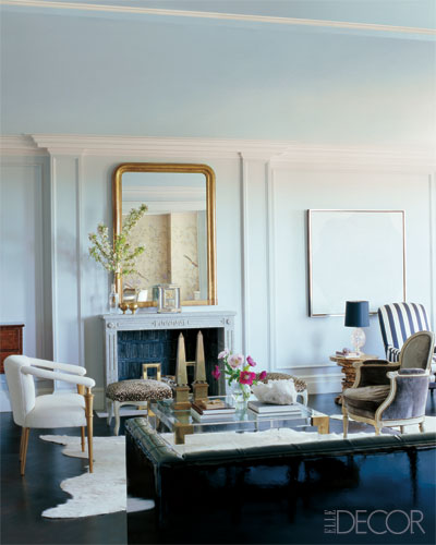 Nate Berkus \/ William Waldron via Elle Decor {eclectic trau2026 Flickr - elle decor living rooms