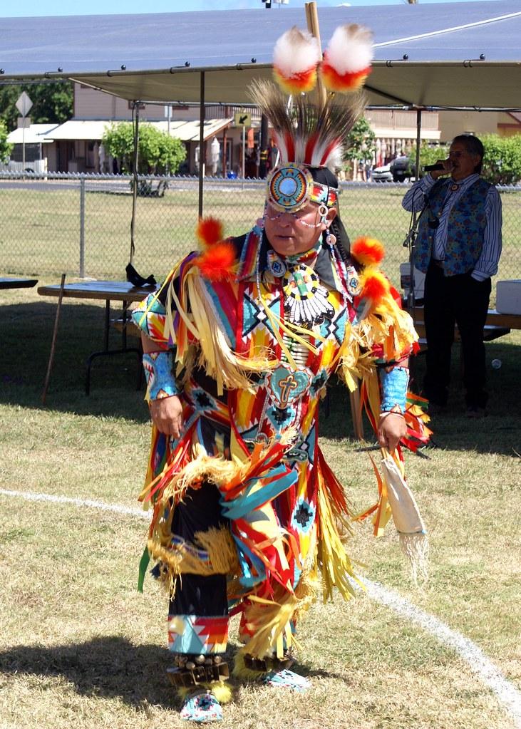 Entry7 Grand Entry Grass Dance Regalia 3 Makuahine Pa I Ki I