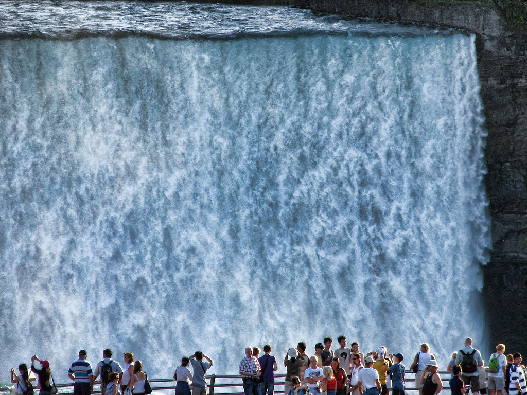 Free Animated Fall Desktop Wallpaper Horseshoe Falls Horseshoe Falls Seen From American Side