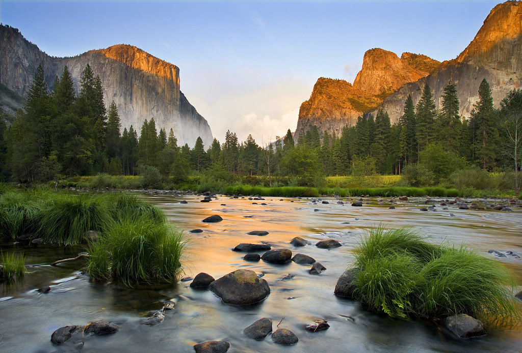 3d Mountain Wallpaper Gates Of The Valley Yosemite Valley Yosemite National