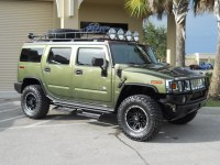 2004 Hummer H2 | Gobi Roof Rack, Gobi Ladder, Lightforce ...