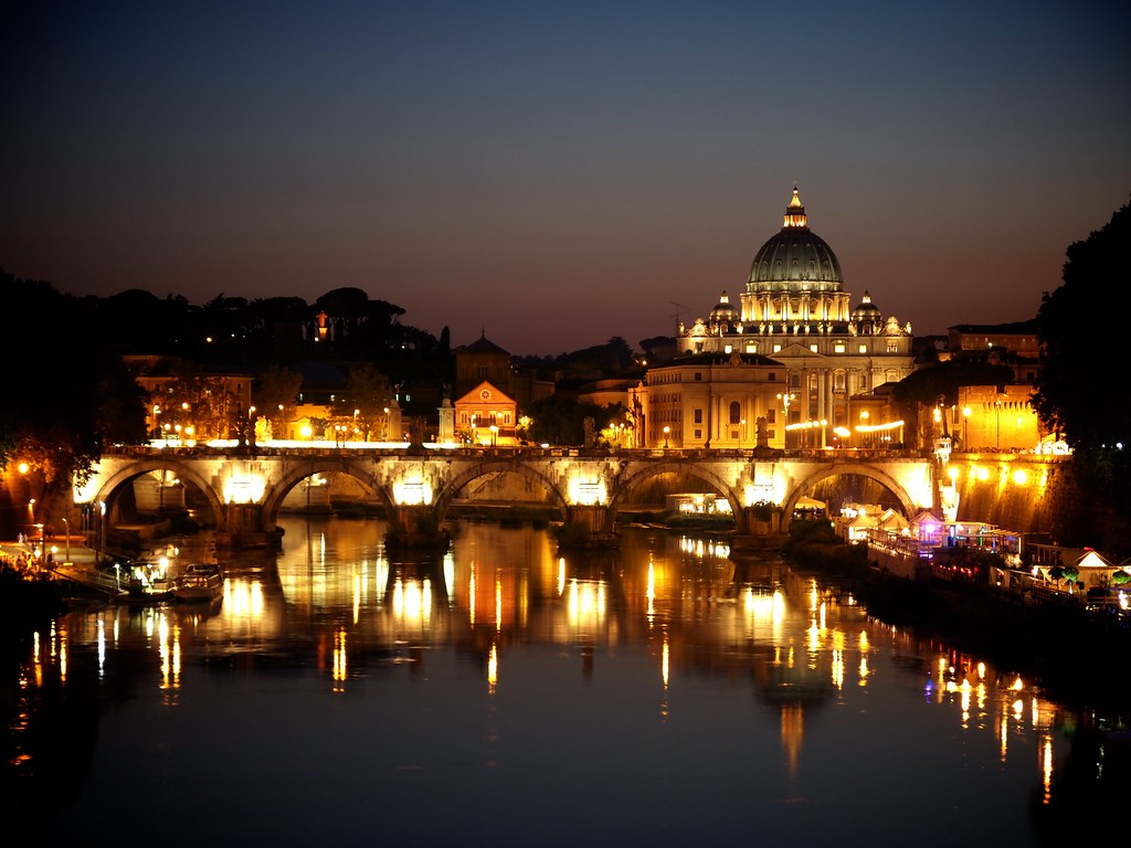 New 3d Wallpaper 1920x1080 Rome At Night 237 365 August 25th 2011 Jack Amick