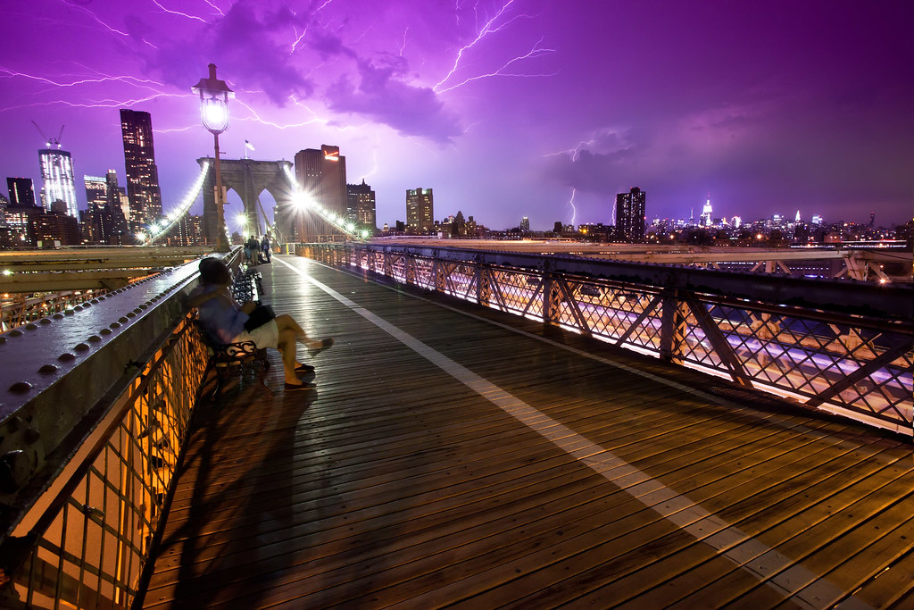Lightning 3d Wallpaper Static Electricity United States New York New York Ci