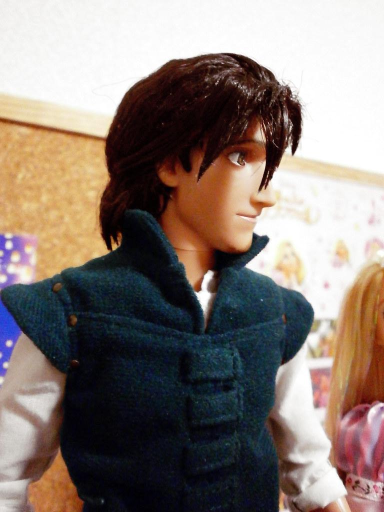 Barbie Doll 3d Wallpaper Flynn Rider Eugene Fizherbert Ooak Doll Quot Right Side Quot フリン