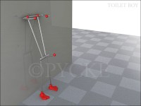 Toilet_Boy | Stand alone toilet paper holder. Didn't know ...