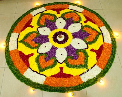 Flower Carpet Pookkalam Glen Mendez Flickr