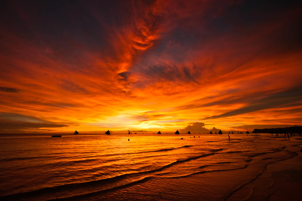 Free Wallpaper 3d Hd Boracay Sunset Ki Flickr