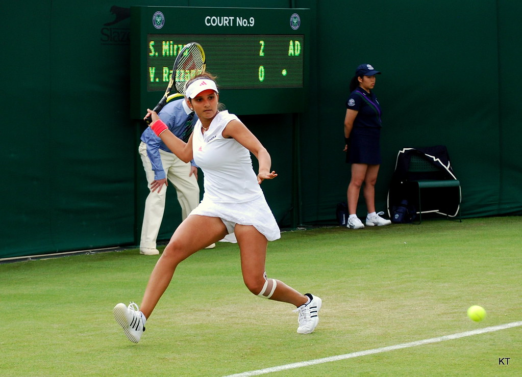 3d World Wallpaper World Sania Mirza Day 2 Of Wimbledon 2011 Carine06 Flickr