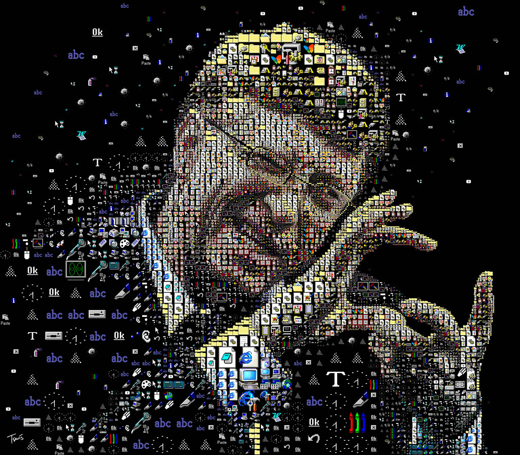 Civil Engineering Quotes Wallpapers Bill Gates The Windows Portrait A Mosaic Portrait Of