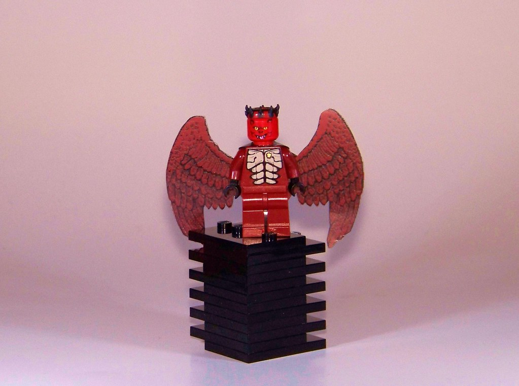 2 7 Lego - Moc - Demon With Horns | I Was Looking For A Fig To