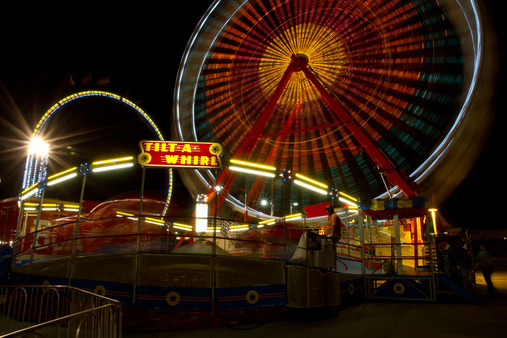 3d Wallpaper Maker Tilt A Whirl The Midway Would Not Be Complete With Out A