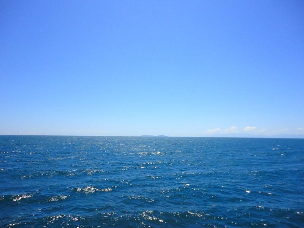 White Wave 3d Wallpaper Mar Abierto Vista A Mar Abierto En El Viaje De Ida Hacia