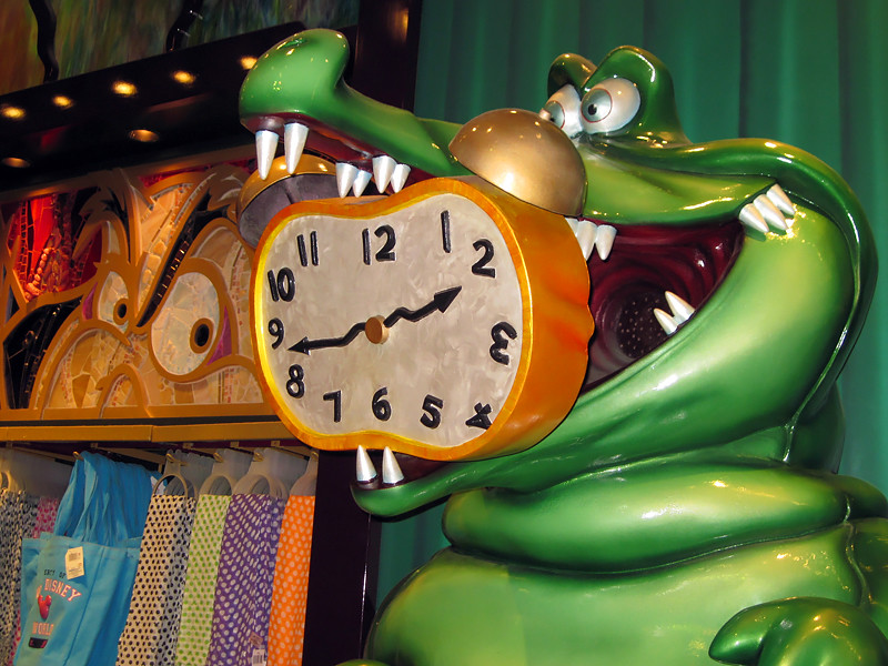 3d Tinkerbell Wallpaper Captain Hook And The Crocodile World Of Disney Downrown