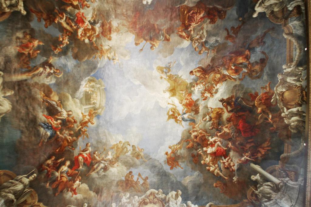 Ceiling Painting, Versailles