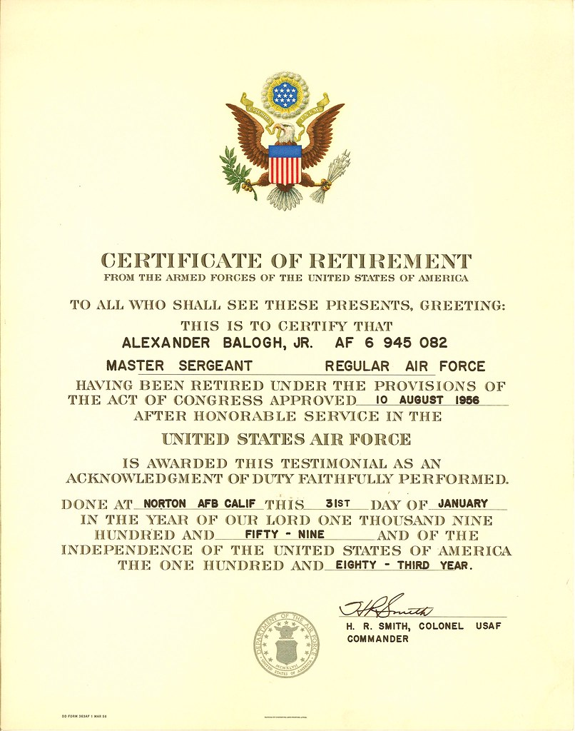 certificate of long service award sample certificate