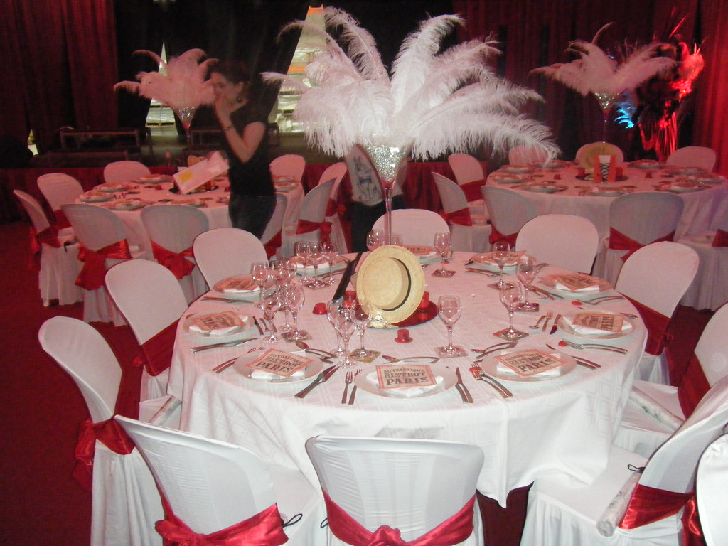 Decoration Salle Anniversaire Adulte Decoration Theme Cabaret Decorations Pour Receptions