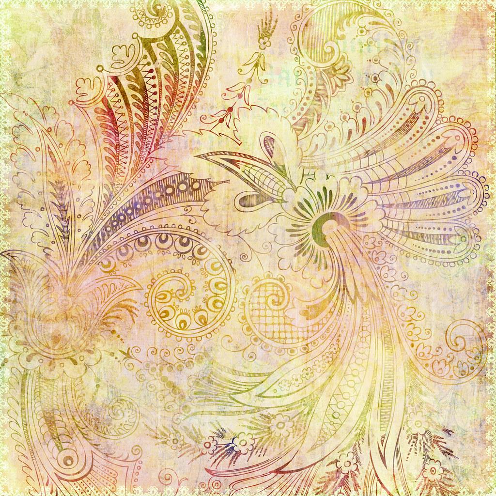 Fall Sunflower Wallpaper Bohemian Gypsy Floral Background Jaime Pott Flickr
