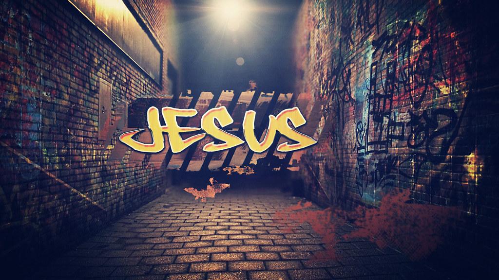 3d World Map Wallpaper For Pc Jesus Graffiti For More Christian Wallpapers Visit Www