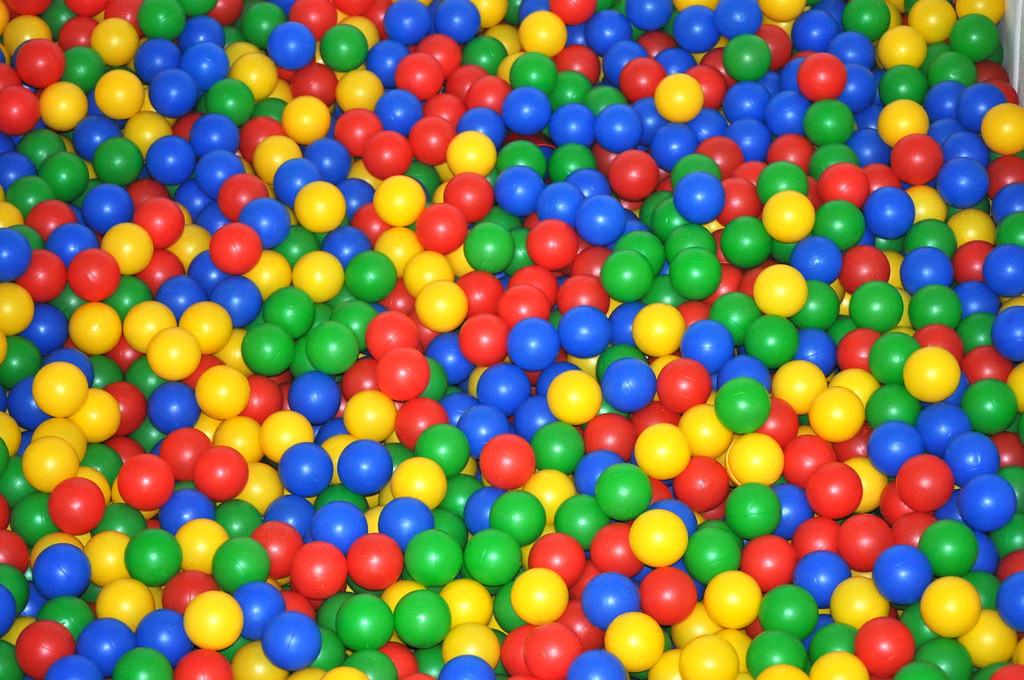 3d Wallpaper Colourful Viele Bunte B 228 Lle B 228 Llebad Ball Pit Maret Hosemann