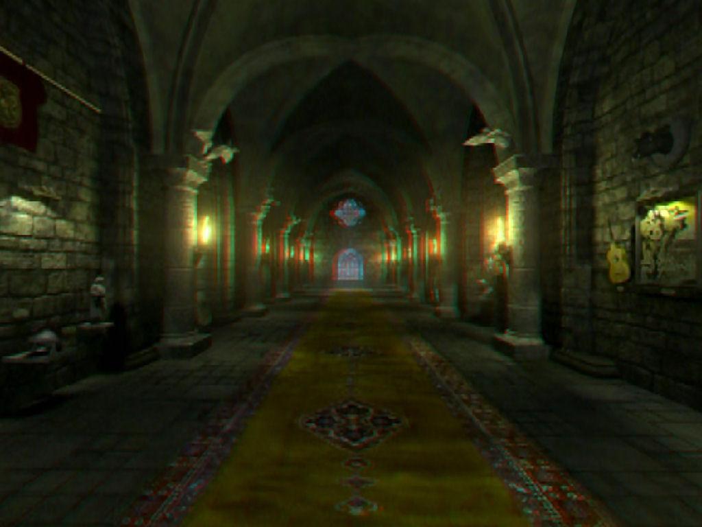 My Photo Wallpaper 3d Imax Haunted Castle 3d Scene 12 Anaglyph Original