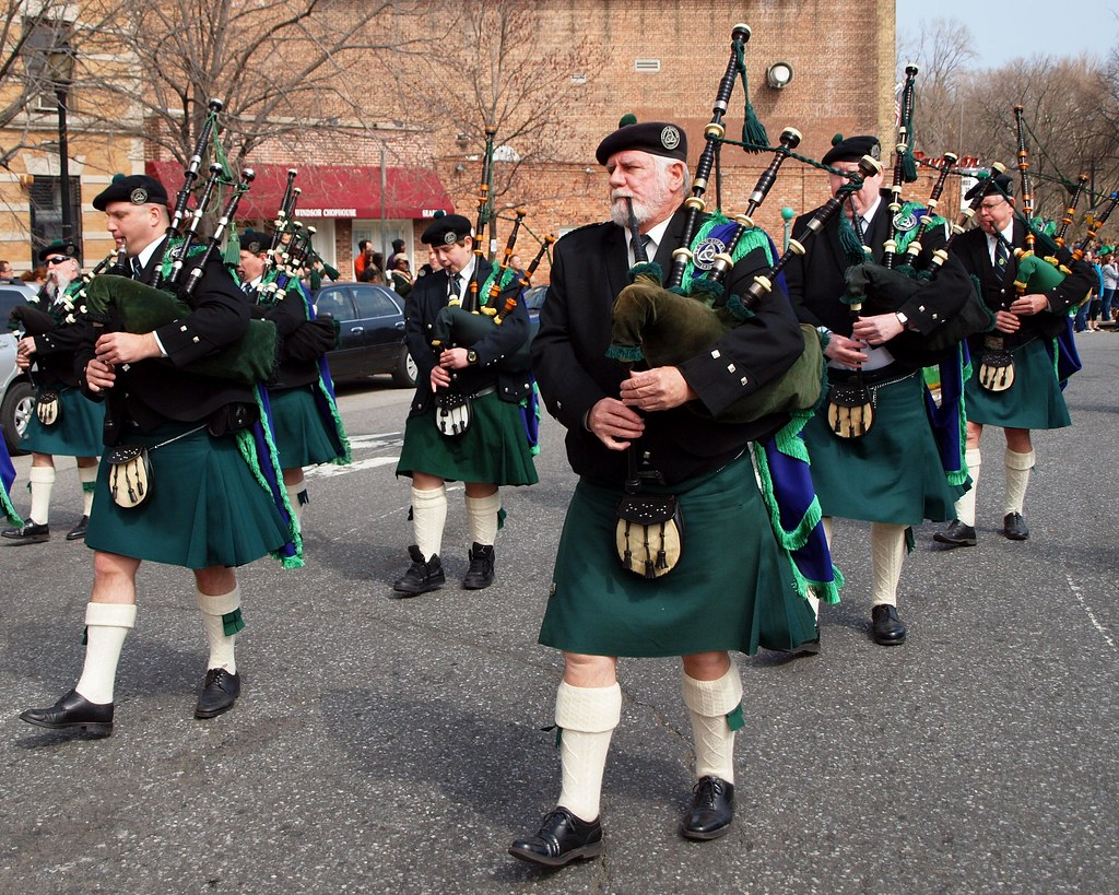 Irish Bagpipers Marching Band 2012 Brooklyn St Patrick39s