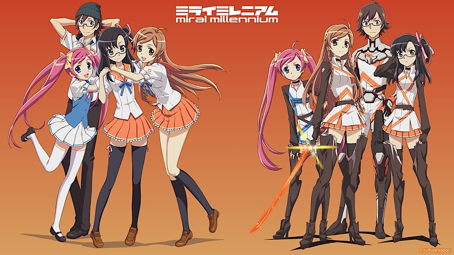 Create Animated Wallpaper Mirai Millennium Op We Ve Seen Mirai Suenaga Animated In