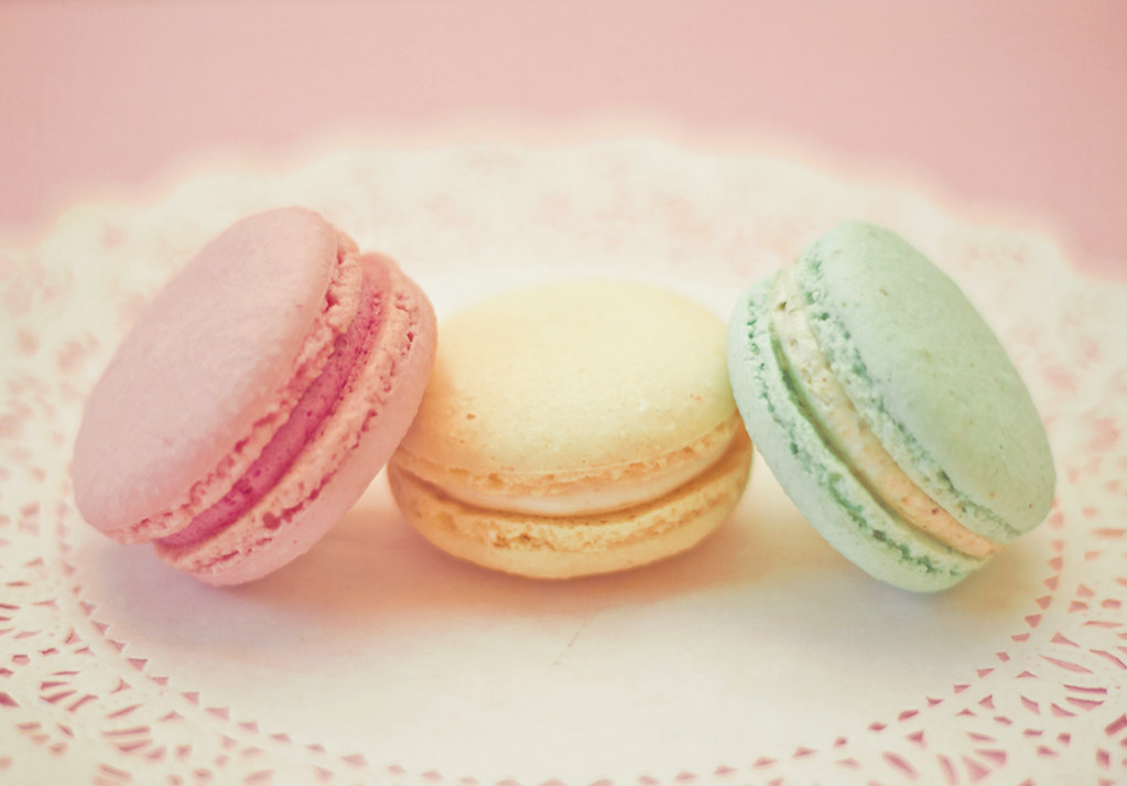 3d Colours Wallpaper Heart Pastel Macarons Life Is Yummy Blogged Macaron World