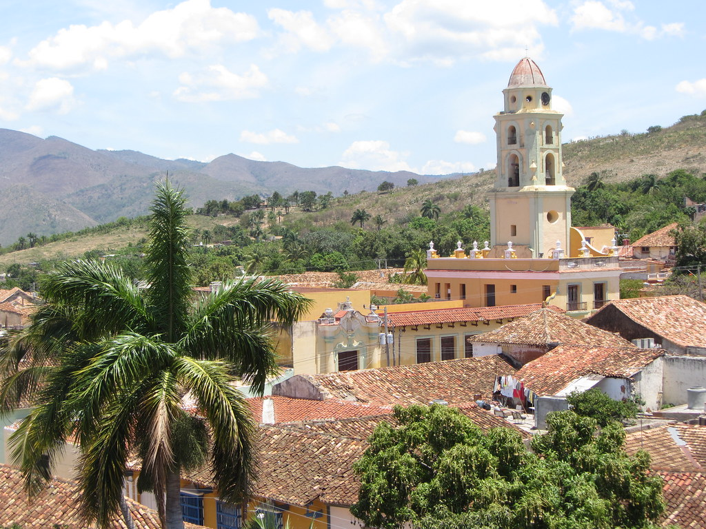 Trinidad Cuba Trinidad Cuba View Over Trinidad From The Tower Of Museo Flickr